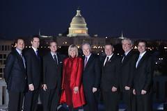 Premiers/premiers ministres Ghiz, McGuinty, Wall, Charest, Dexter, Selinger, Graham and/et Minister/ministre Iris Evans