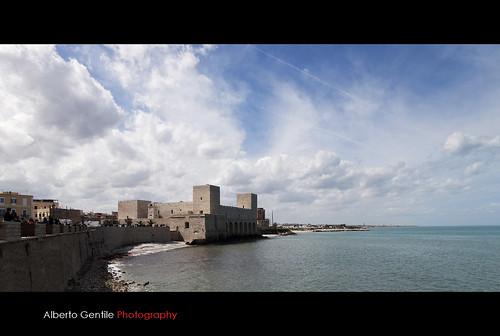 castello puglia photomix trani mygearandme (Photo: albygent Alberto Gentile on Flickr)