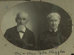 1-47-299 Mr. and Mrs. Geba Ruggles (Three Rivers Library) Tags: portrait husbandandwife