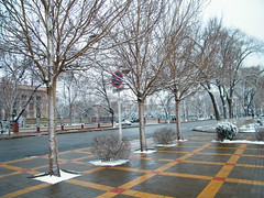 a late snow brings chill in Qiqihar, northeastern ... (dabbog) Tags: life god dream yukiko asoh