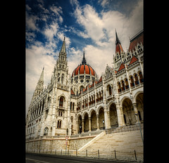 Budapest - Orszghz (House of Parliament) (LaTietze) Tags: photoshop europa europe hungary budapest parliament bud parlament magyar ungarn hdr topaz orszghz photomatix tonemapping nikond7000 mygearandme mygearandmepremium mygearandmebronze sigma816