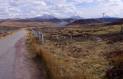 Empty road to Kinlochbervie (AssyntNature) Tags: nature landscape scotland highlands ben stack sutherland racehorse arkle 2013 foinaven
