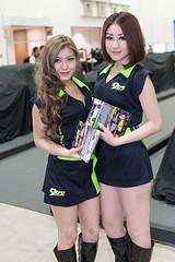 TAS 2013 (SG) - 055 (jasonlcs2008) Tags: woman sexy cars girl car asian singapore showgirl showgirls tokyoautosalon 2013 2470mmf28g