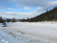 Parking lot at Five Finger Rapids (jimbob_malone) Tags: yukon 2013 northklondikehighway