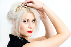 Ra (forayinto35mm) Tags: tiara girl beauty fashion studio sony carlzeiss studioshoot sonya77 sonyalpha77