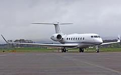 N673HA (Gman385) Tags: plane airplane aircraft aviation g6 gulfstream hio khio gvi g650 portlandhillsboroairport glf6 cn6018 n673ha