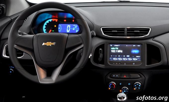 Painelo do Chevrolet Onix