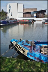 Rosie. (dlanor smada) Tags: uk england chilterns rosie canals gb aylesbury bucks grandunion narrowboats