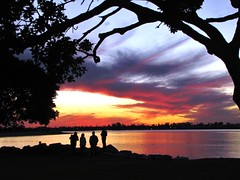 Gone with the wind (moonjazz) Tags: california friends sunset sky nature landscape quiet poetic cinematic drama phto missionbay gonewiththewind shraing
