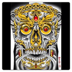 Backpiece study #kapala #kapalaskull #skull #backpiece