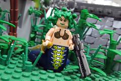 More gorgon fun! (ToyWiz.com) Tags: greek gun lego fig mini prototype weapon figure minifig legend medusa proto minifigure medua brickarms toywiz toywizcom