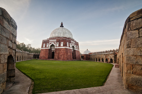 In Delhi - The Mausoleum of the Founder of the Tughlaq Dynasty