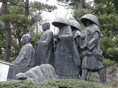 #7510 monk sculpture (Nemo's great uncle) Tags: geotagged zen yokohama 禅 神奈川県 總持寺 kanagawaprefecture 横浜市 曹洞宗 総持寺 tsurumiku 鶴見区 sōjiji okinawatsurumiwalk geo:lat=3550733900131684 geo:lon=13967094898223877