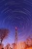 Radio activity V (quornflake) Tags: longexposure trees night stars long exposure startrails starstax