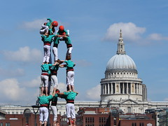 Castellers in London