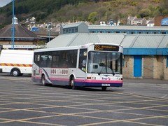 41394 - X394HLR - Port Talbot bus station - 4 April 2012 (Simon's Bus Photostream) Tags: porttalbot firstbus 41394 firstcymru x394hlr