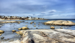 Seascape (abbi.hailey) Tags: ocean sky beach beauty digital hdr highdynamicrange lanscape nahuant