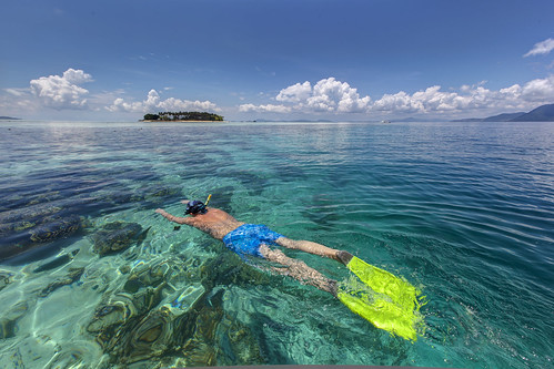 Snorkeling in the Celebes Sea