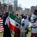 Conservative Somali-Americans at Minnesota anti-tax rally