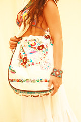 Peacock embroidered bag (Aida Coronado Galeria) Tags: wedding girls summer woman art floral fashion sonora mexicana vintage mexico store clothing pieces dress folk embroidery contemporary unique gorgeous details fine belts peacock mexican cotton dresses online oaxaca designs bags ethnic pure puebla vacations embroidered whimsical indigenous apparel stylish ruffled mexicangirl 2013 virtualshop pintucked mexicanbags uniquedress mexicanembroidereddress aidacoronado wwwaidacoronadocom mexicanapparel embroideredbelts mexicanembroideredbag