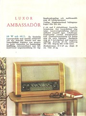 LUXOR Radio, Grammophon Dealer Folder (SWEDEN 1947)_003 (MarkAmsterdam) Tags: old classic sign metal museum radio vintage advertising design early tv portable colorful fifties tsf mark ad tube battery engineering pickup retro advertisement collection plastic equipment deck tape electronics era handheld sheet catalog booklet collectible portfolio recorder eames electrical atomic brochure console folder forties fernseher sixties transistor phono phonograph dealer cartridge carradio fashioned transistorradio tuberadio pocketradio 50s 60s musiktruhe tableradio magnetophon plaskon 40s kitchenradio meijster markmeijster markamsterdam coatradio tovertoom