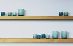 Turquoise (Explore #39, 30.04.2013) (Mathijs Delva) Tags: wood stilllife white wooden geometry turquoise indoor minimal pots zen simple 50mmf14 niftyfifty
