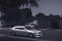 my car (itsJulianG) Tags: silver modesto lexus slammed stance streetsweeper is300
