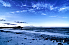 Day 111 - Ice be gone (DAFW Photography) Tags: lake ice bay melting superior thunder