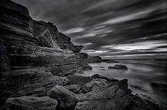 Veteran Sunrise V (Crouchy69) Tags: ocean seascape sunrise landscape dawn bay big nikon rocks long exposure waves little sydney australia lee software nik nikkor stopper d800 1635mm
