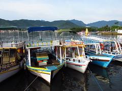 Paraty - Second Day #19 (escailler arthur) Tags: sky mountain water rio brasil paraty montagne landscape boat photo eau ciel bateau paysage couleur brsil vancayzeele