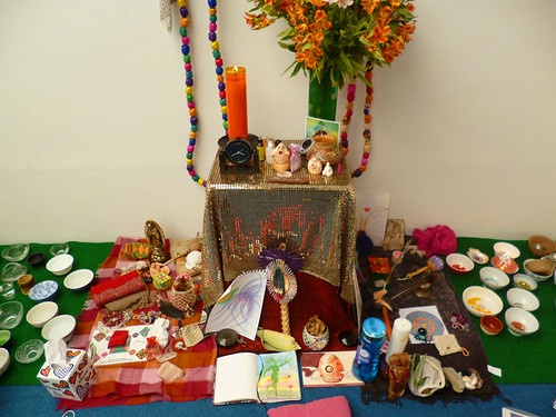 The Womb Bowls and altar