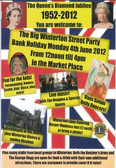 Winterton jubilee flyer May 2012 (Big Local) Tags: poster flyer jubilee flag queen celebration invitation posters leaflet publicity unionjack invite flyers winterton leaflets diamondjubilee biglocal localtrust