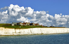 School With A View (Serge Freeman) Tags: uk school sea england clouds buildings spring brighton view cliffs