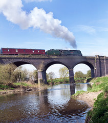 EX S.R Bulleid Pacific No. 34007  'Wadebridge' (norman-bates) Tags: viaduct loughborough westcountry ruddington greatcentralrailway wadebridge gcr spamcan bulleid 34007 stanfordonsoar bulliedpacific built1945