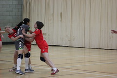 IMG_2830 (sostomymother) Tags: uk green london thames womens bethnal vs academy handball londongd
