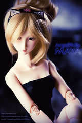 some more Maya/AngelPhilia (gunshrimp) Tags: maya 14 bjd yamato arcadia catears headband leotard 50cm nekomimi vmf50 girlinleotard angelphilia girlholic