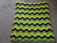 Jamie Howe (The Crochet Crowd) Tags: ripple crochet mikey yarn blanket afghan april redheart chevron challenge freepattern 2013 freecrochetpattern thecrochetcrowd oceanoceanwavesafghan