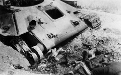Explosion destroyed Soviet tank T-34 and killed the crew (Krueger Waffen) Tags: history dead army war tank military thirdreich wwii 1940s armor gore ww2 killed kia wreck russian armour armored 1941 tanks panzer redarmy secondworldwar afv worldwartwo antitank armoredvehicle warfare armoured armoredcar wehrmacht t34 easternfront pzkpfw russiantank destroyedtank russianarmor secondworldwartanks worldwartwotanks tanksofthesecondworldwar