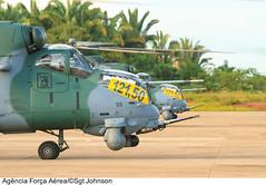 Procedimento de interceptação (Força Aérea Brasileira - Página Oficial) Tags: brasil helicoptero portovelho aeronave rondônia forcaaereabrasileira interceptador milmi35 fotojohnsonbarros ah2sabre interceptacao