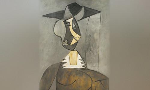 "Mujer en Gris, caracterización de Pablo Picasso (1942), recreación de Roy Lichtenstein (1962). • <a style=""font-size:0.8em;"" href=""http://www.flickr.com/photos/30735181@N00/8815850076/"" target=""_blank"">View on Flickr</a>"