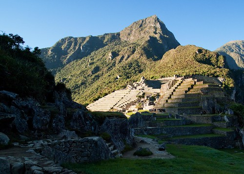 First Light on Machu Pichu