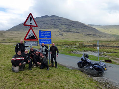 UK - Hardknott Pass - The king of climbs (fatboyke (Luc)) Tags: bridge irish 3 classic wet water 30 river scotland funny crossing lol pass down harley hills hero davidson sportster borders scotish causeway hardknott bloopers charnwood cheviot gopro gagreel streetglide
