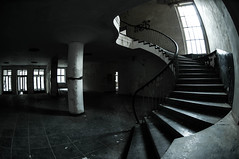 Stairs (SnP I Photography) Tags: nikon nikkor militr vogelsang russland abandonedroom oberhavelland