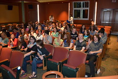 Humanities and Fine Arts Academic Orientation (2) (saintvincentcollege) Tags: students campus education fine arts pa event benedictine orientation academic humanities latrobe saintvincentcollege