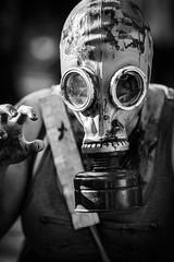 Zombie Girl 5 (Mike Gabelmann) Tags: people canada halloween costume blood zombie walk britishcolumbia makeup victoria gore northamerica undead