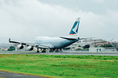 _MG_1121 (WayChen_C) Tags: aircfaft airplane rckh khh boeing 747 747400 cathaypacific bhui