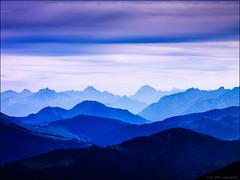 version en couleur (Paucal) Tags: hassy alpes aravis 180cfi color coloriste nuages zen