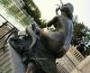 El Retiro- Las Sirenas. Madrid (lameato feliz) Tags: madrid parquedelretiro monumento arte lassirenas estatua