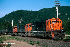 Quebec Cartier Mining 78 Mille-21 7-15-2000 (Frater Operator) Tags: quebeccartiermining qcm alco mlw