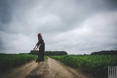 Her World (Andrezza Haddaway) Tags: fineartphotography portrait girl woman field vintage levitation sky inspiration